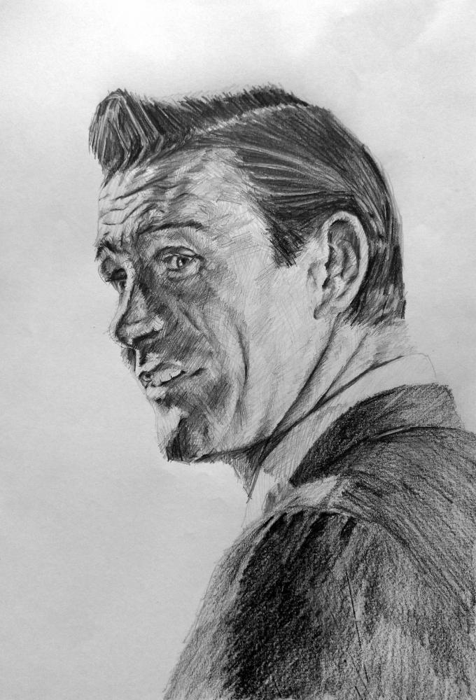 Sean Connery by linshyhchyang